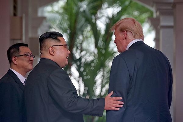 美官员:特金会举行前 朝鲜军方没有任何不寻常举动