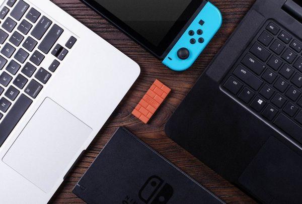 八位堂USB无线适配器:PS4手柄可接任天堂Switch