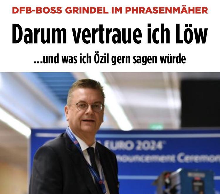 德国足协主席:厄齐尔可以回国家队 希望他和勒夫交流