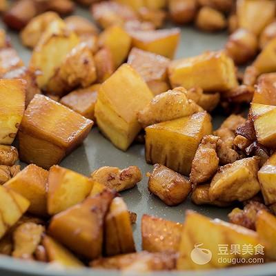 笋丁干贝焖饭的做法 - 后花园网文 - 趣味生活