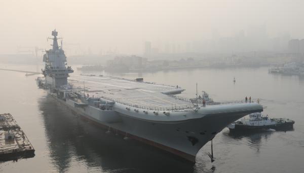航母工程总指挥:国产航母提前实现首航 试验成功