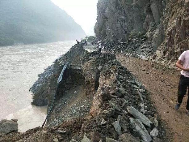 请注意!国道245线乐山峨边至金口河交界处断道车辆请绕行