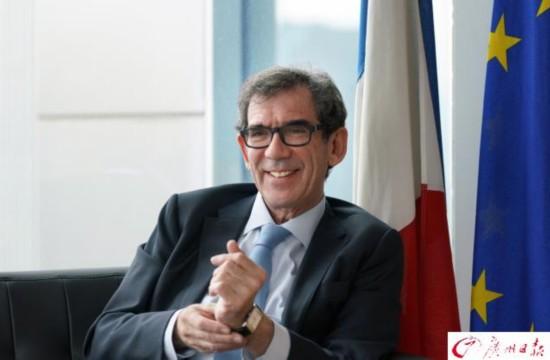 专访法国驻华大使黎想:广州是一个充满活力的快乐之都