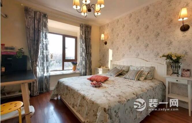 美式混搭北欧风格装修图片 石家庄89平两居舒适家装