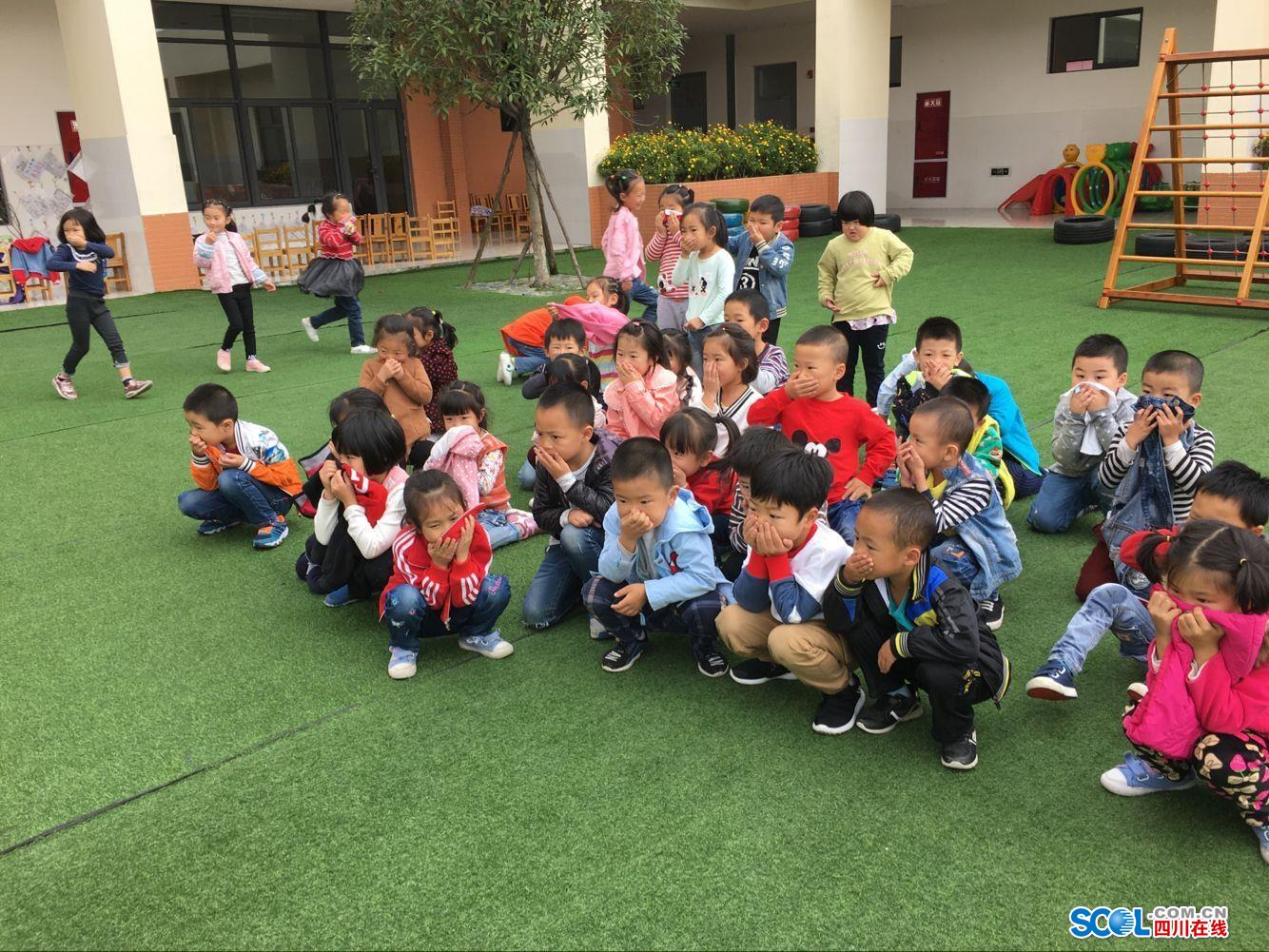德阳市雅居乐泰山路小学幼儿园开展消防v小学五小学十字图片