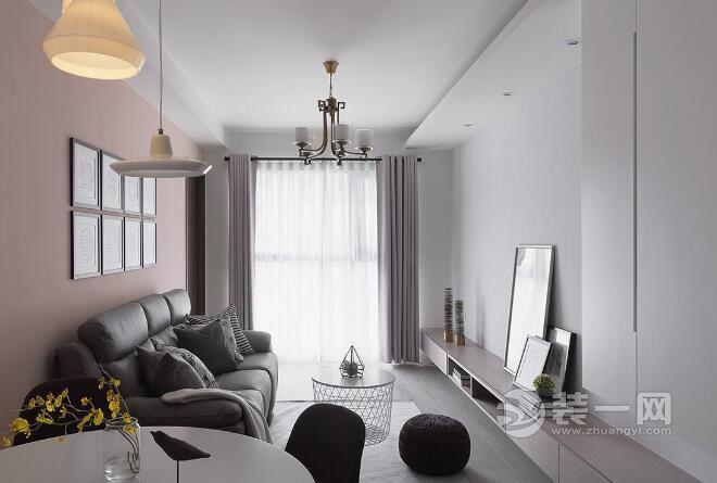 90平米小三房装修效果图混搭空间a空间风格设300v空间农村房屋图片