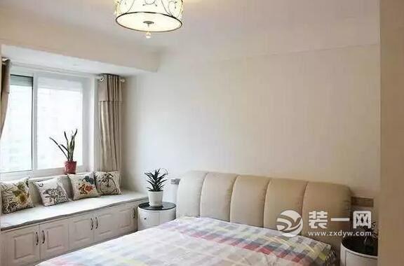 财富10W济南造价壹号107平简约三室一厅装修.51056.米设计图平面图片