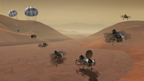 "NASA拟派遣""蜻蜓""无人机探索土卫六Titan"