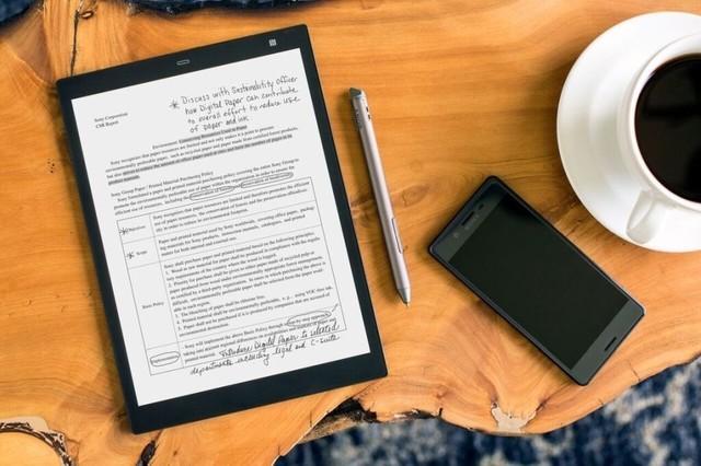 专注笔记 索尼推出10英寸电子纸平板电脑