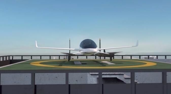 飞行出租车方案完美解决未来堵车问题