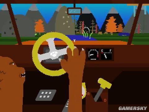 呢款逗趣游戲讓la扮演著騎車既熊 單手飆車搜集野食獨立游戲,香港交友討論區