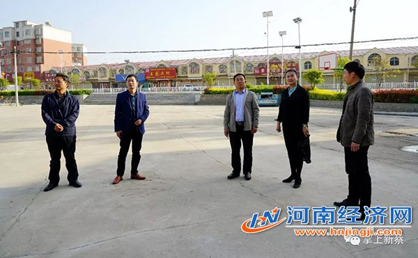 河南省委宣传部检查指导新蔡县百县万村综合文