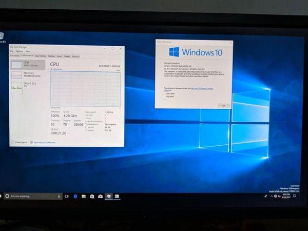 树莓派3现可运行完整版Win10系统了的照片 - 1