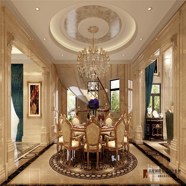 北京1000㎡别墅——奢华欧式风格,穹顶,圆床你值得拥有!