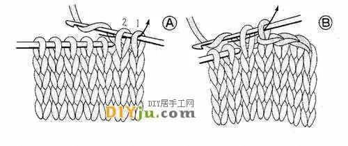 针,如此类推    用钩针做收针(低针面)             织围巾最后一针的