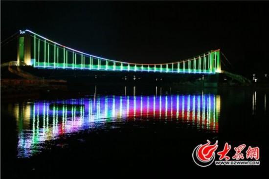 3a级旅游景区规划要求,2017年10月,单县幵山公园开始建设了玻璃吊桥