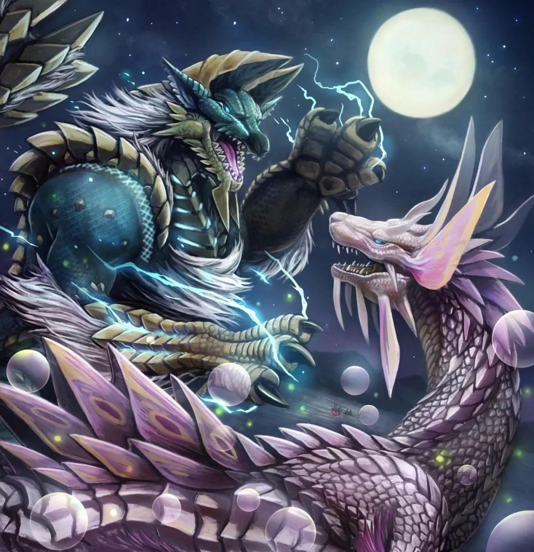 雷狼龙是群居动物,族群的首领就是日后被龙历院发现的二名怪物金