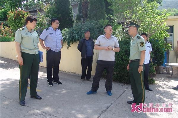 淄博市沂源县历山街道办事处开展安全生产综合整治工作
