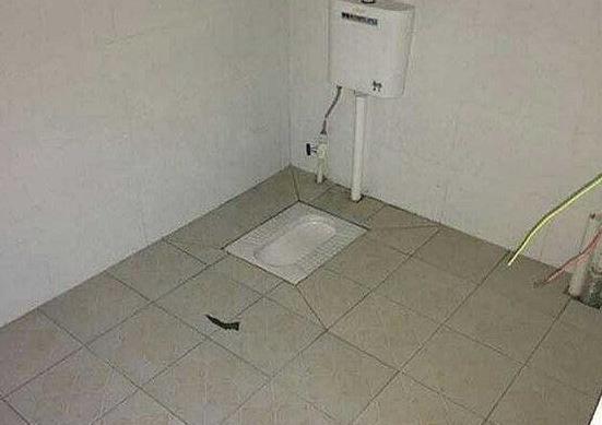一蹲一坐厕所装修图片