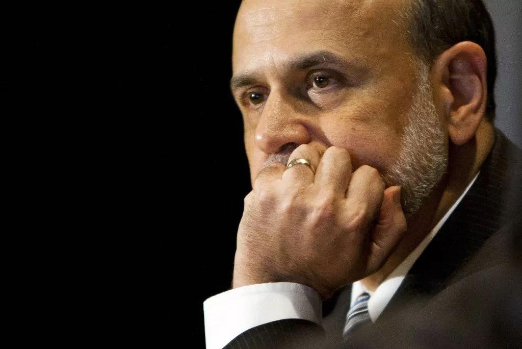 伯南克半月内第三次发文谈金融危机:恐慌比泡沫破裂本身更可怕