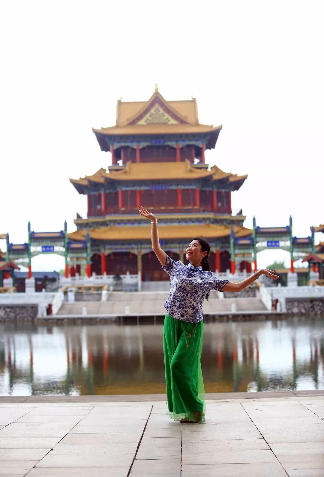 传承中华文化,舞动圆明新园