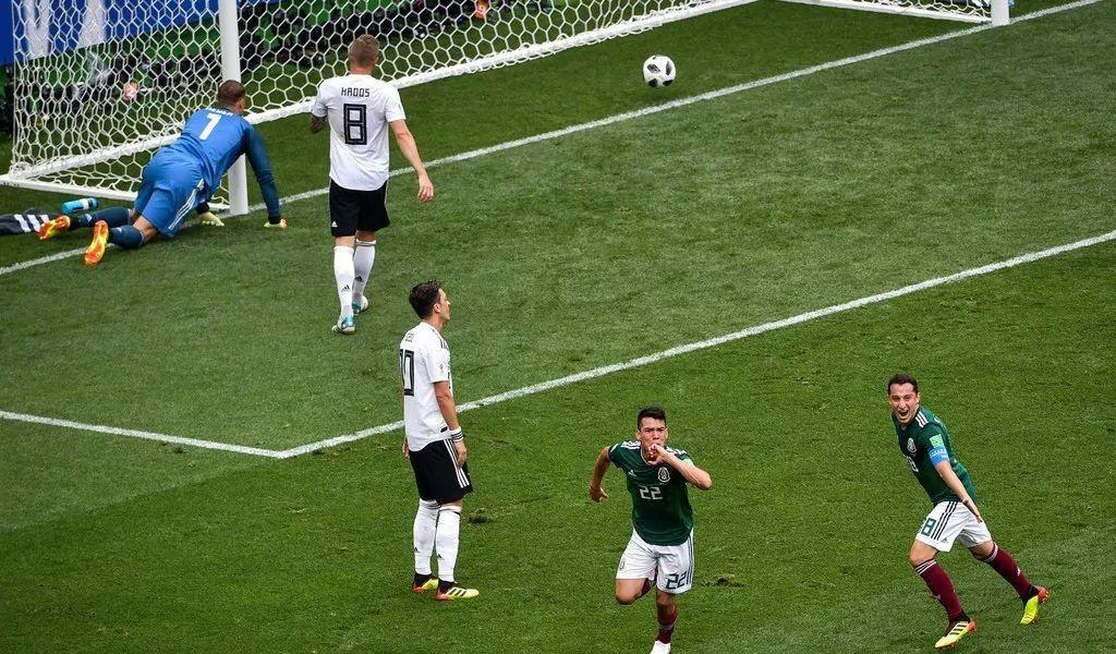 俄罗斯世界杯:德国0-1爆冷负于墨西哥,罗伊斯世