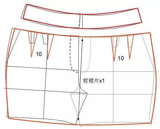 哈伦裤,锥形裤,直筒裤,短裤等8种裤子的结构制图