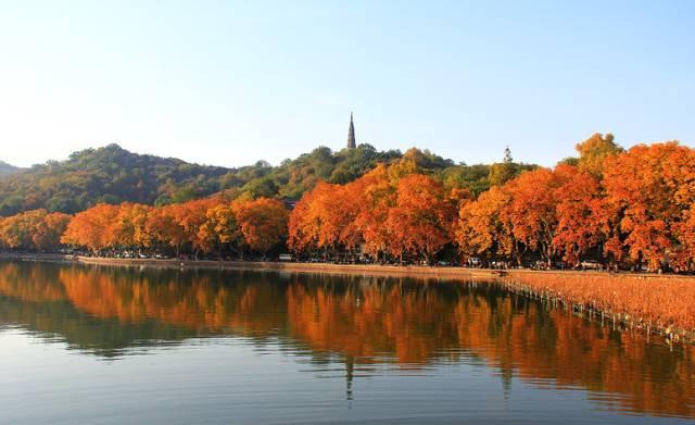 秋天 吉林北山风景区