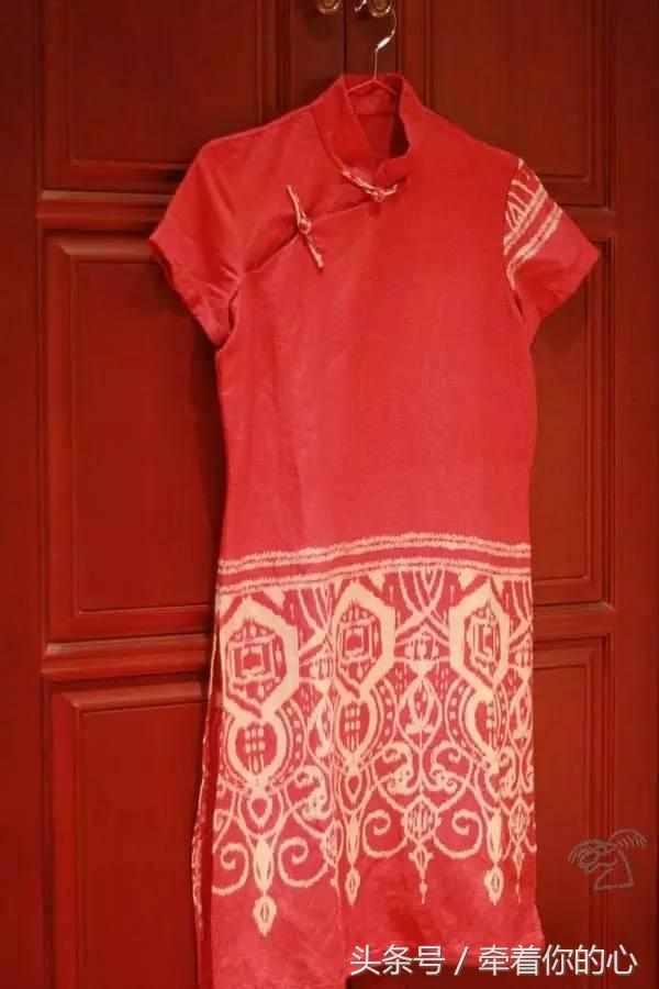 中式改良旗袍的制作详情附 裁剪图