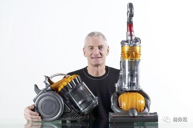 """工业设计师,被英国媒体誉为""""英国设计之王""""的詹姆斯·戴森创立的同名"""