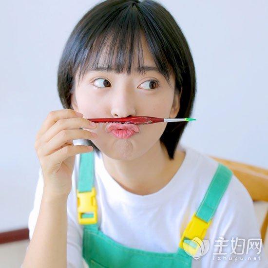 齐耳韩式发型短发短发教程图片越短越酷越时女生编发职业图片