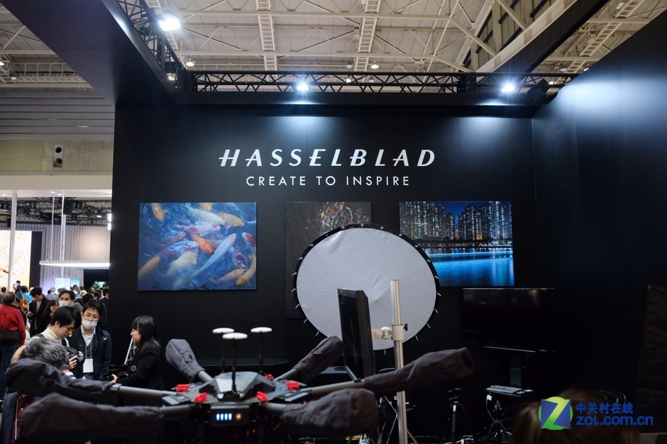 CP+2018哈苏展示4亿像素H6D中画幅相机
